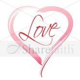 Valentines Day Love Heart Email Salutation