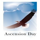 Ascension Day Eagle Email Salutation
