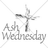 Ash Wednesday Cross Email Salutation