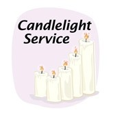 Christmas Candlelight Email Salutation