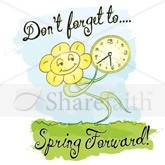 Spring Forward Email Salutation