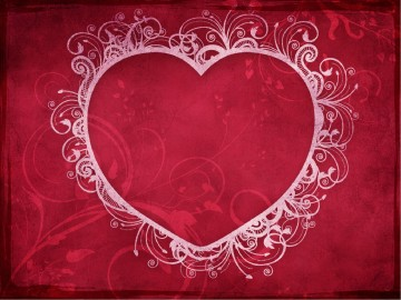 Love Heart Valentines Day PowerPoint Template