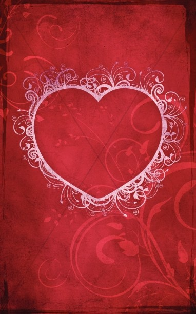 Heart of Love Valentines Day Bulletin Cover