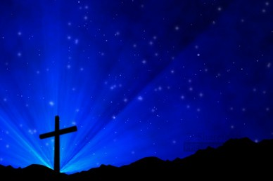 Christian Cross Worship Video Background