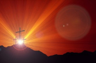 The Easter Cross Worship Video Background