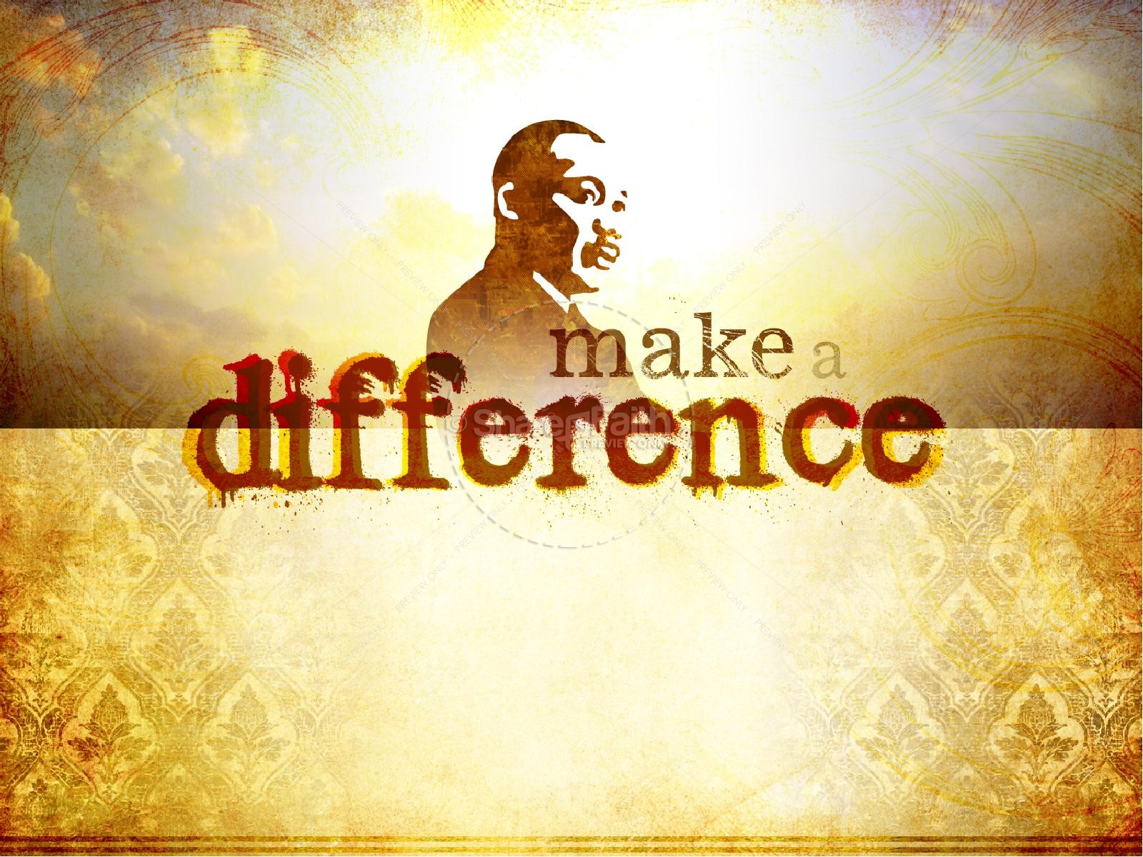 Martin Luther King PowerPoint Template | PowerPoint Sermons