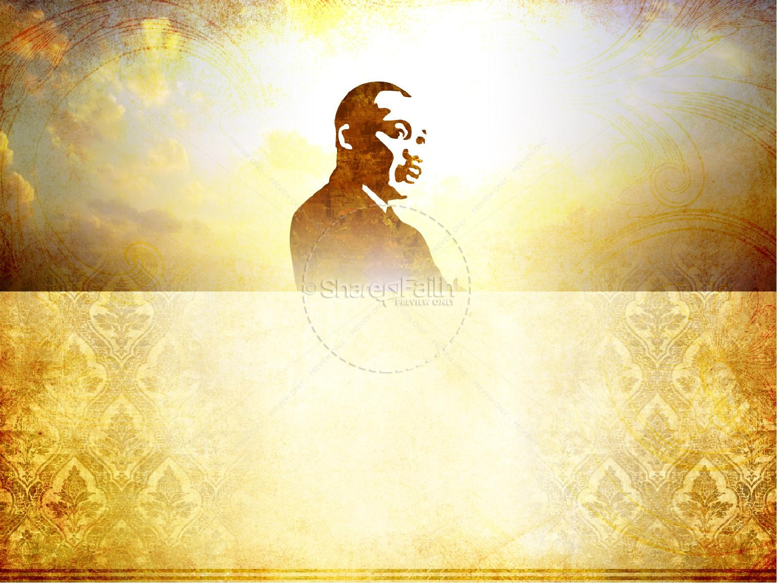 Martin Luther King PowerPoint Template | slide 2