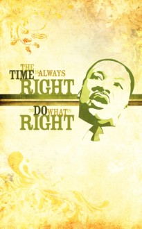 Martin Luther King Do Right Bulletin Cover