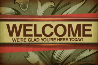 Easter Worship Welcome Video Splash Screen