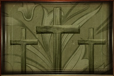 Easter Crosses Worship Video Background