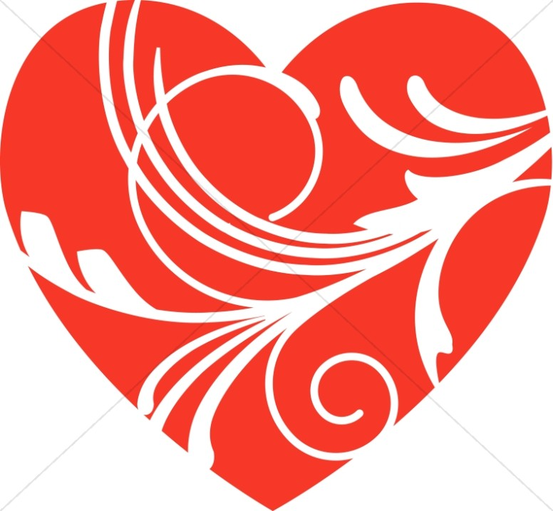 Valentines Day Decorative Heart