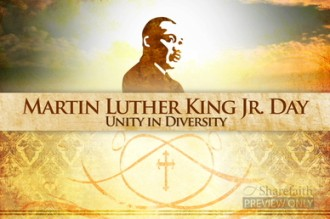 Martin Luther King Unity Worship Video