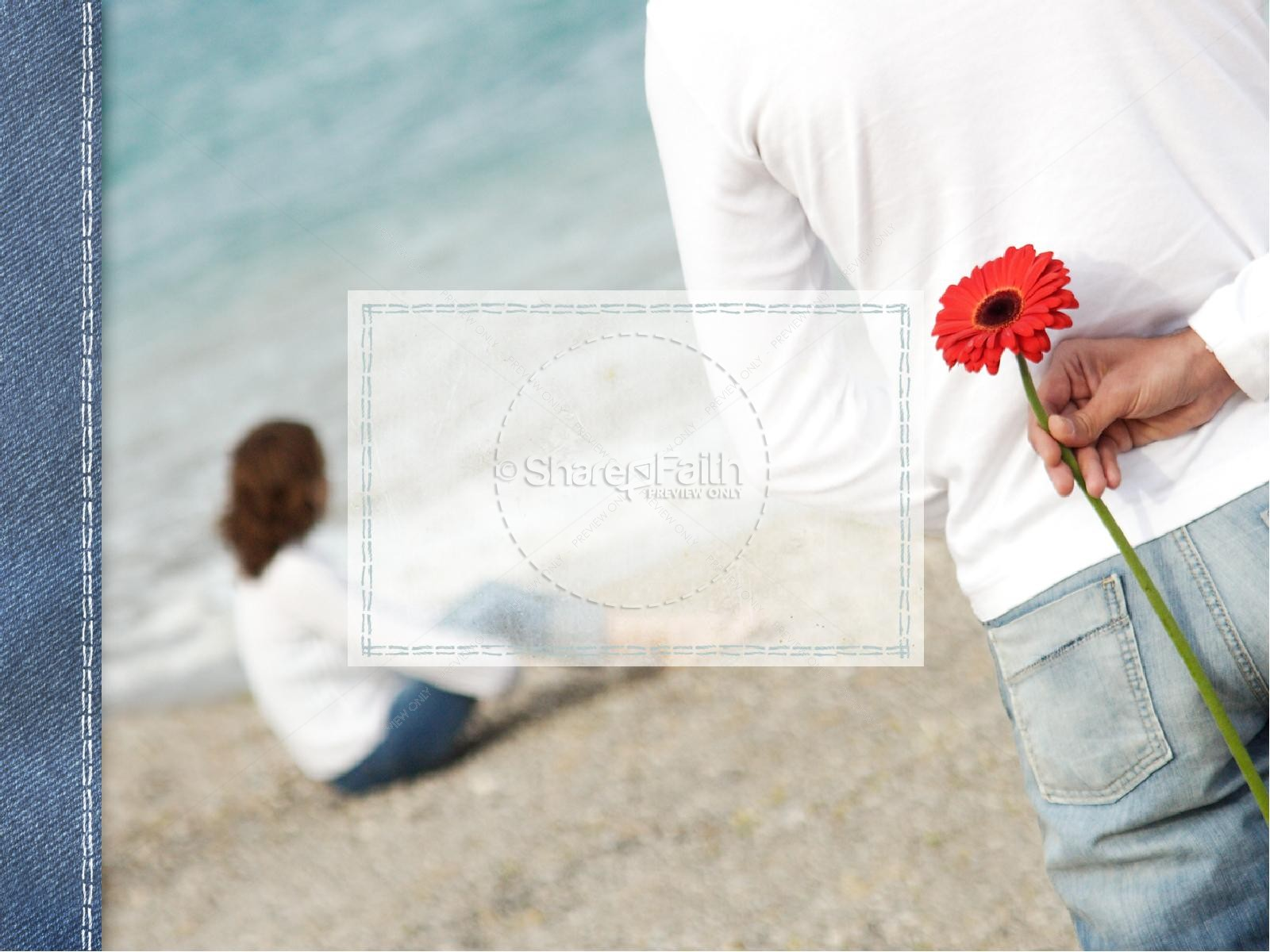 Seaside Forgiveness Lent PowerPoint