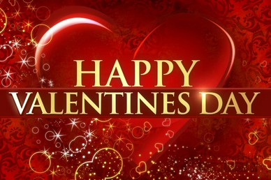 Happy Valentines Day Video Loop Screen