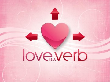 Love is a Verb Valentines PowerPoint