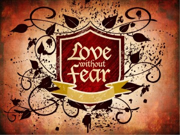 Love without Fear Valentines Day PowerPoint