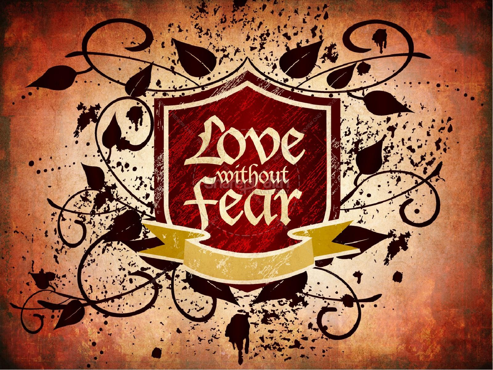 Love without Fear Valentines Day PowerPoint | slide 2