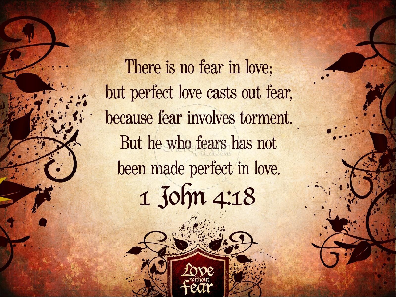 Love without Fear Valentines Day PowerPoint | slide 4