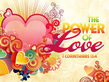 The Power Of Love Valentines Day PowerPoint Template