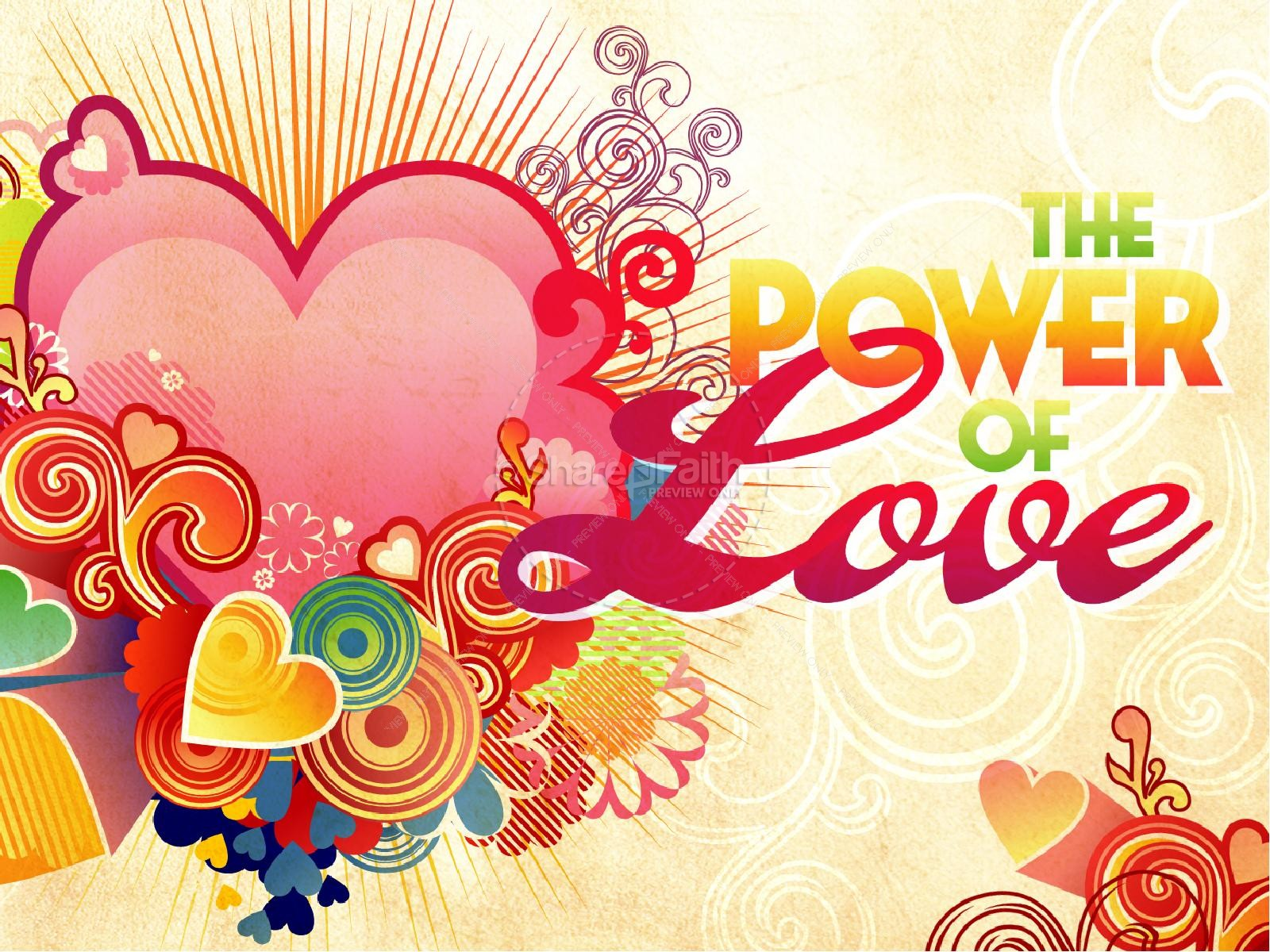 The Power Of Love Valentines Day PowerPoint Template | slide 2