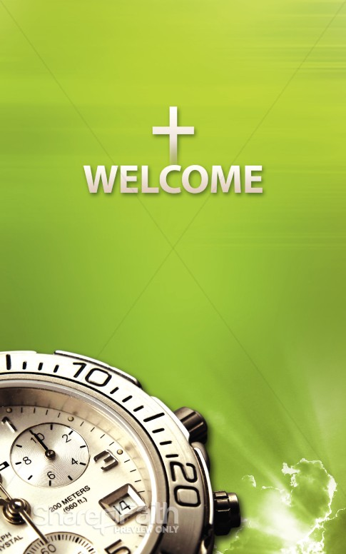Daylight Savings Reminder Bulletin Sermon Bulletin Covers