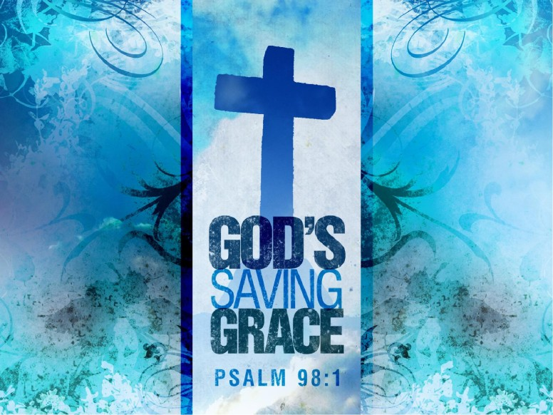 Blue Cross of Grace Easter PowerPoint