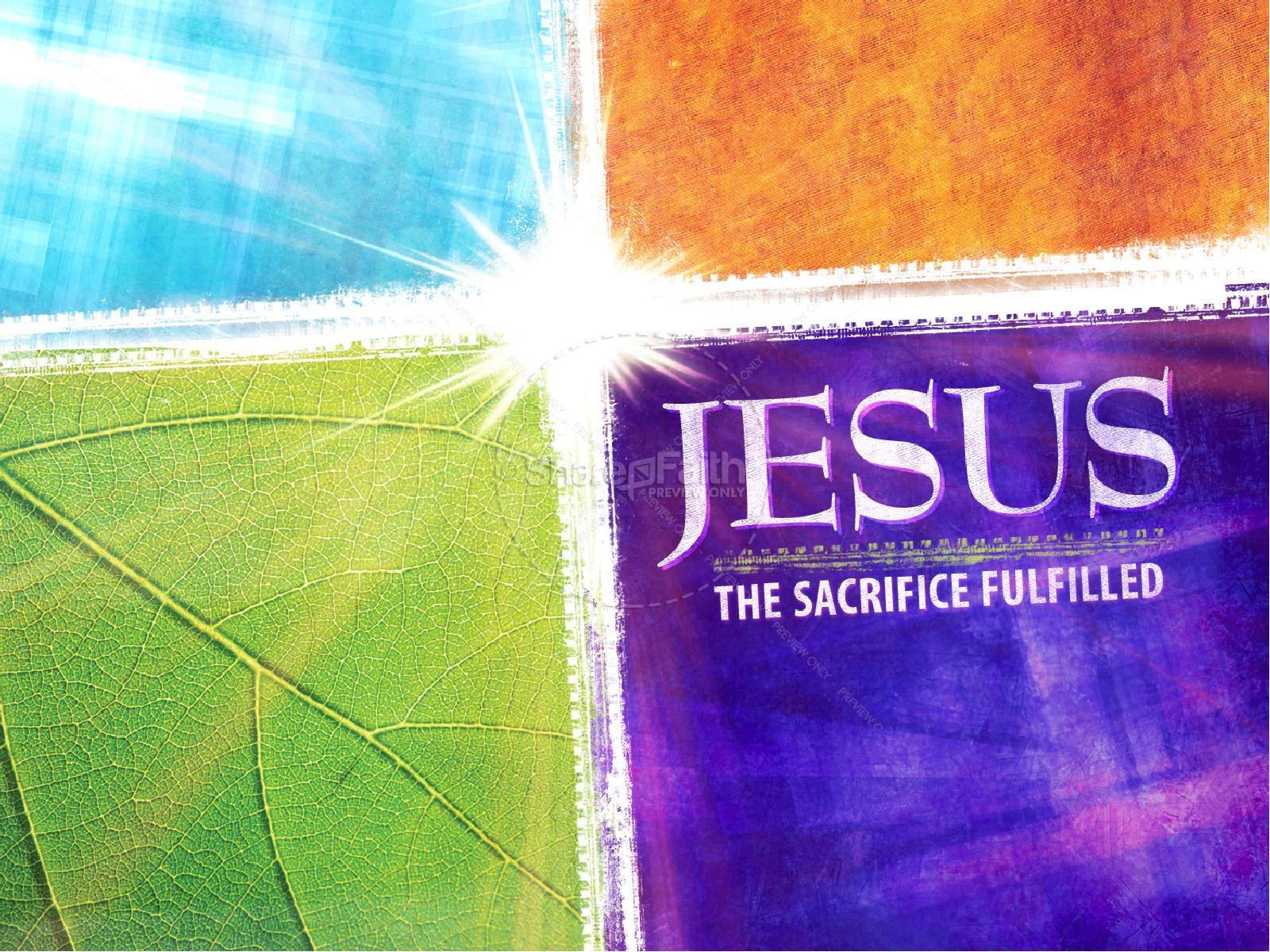 Christian Easter Sunday Resurrection PowerPoint | slide 2