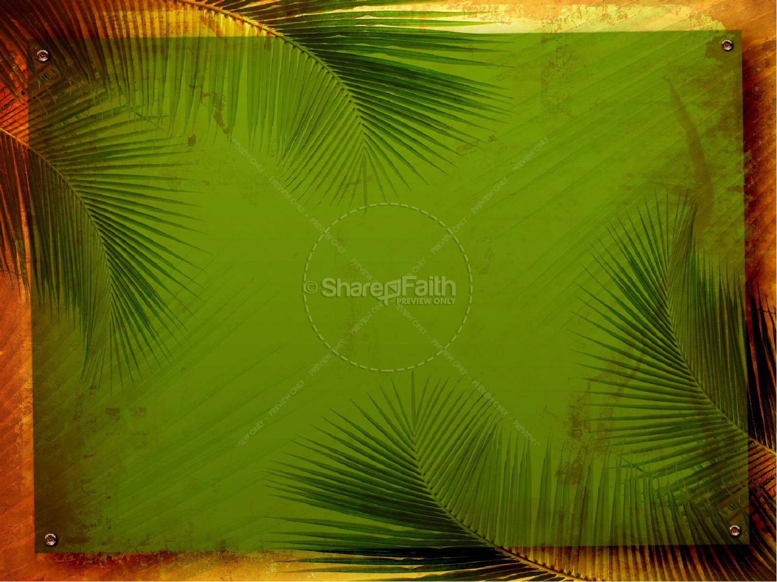 Palm Sunday Easter Passover Powerpoint Easter Sunday