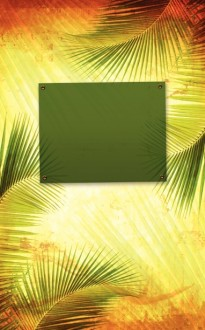 Palm Sunday Branches Bulletin Cover