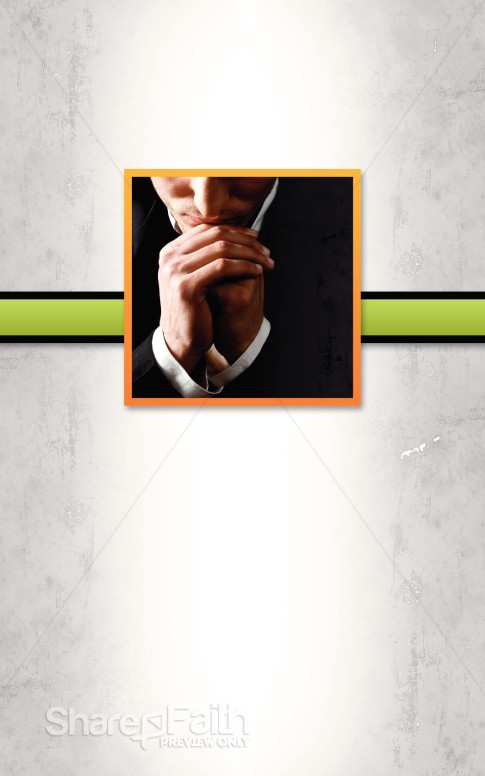 Bible Study Prayer Bulletin Cover