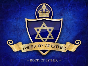 Book of Esther PowerPoint Template