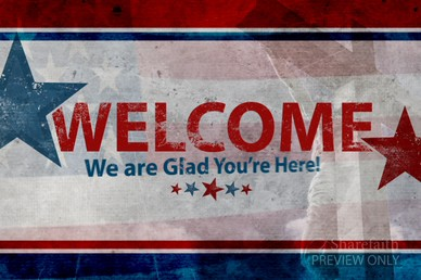 Patriotic Welcome Video