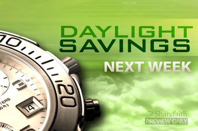 Daylight Savings Video Loop