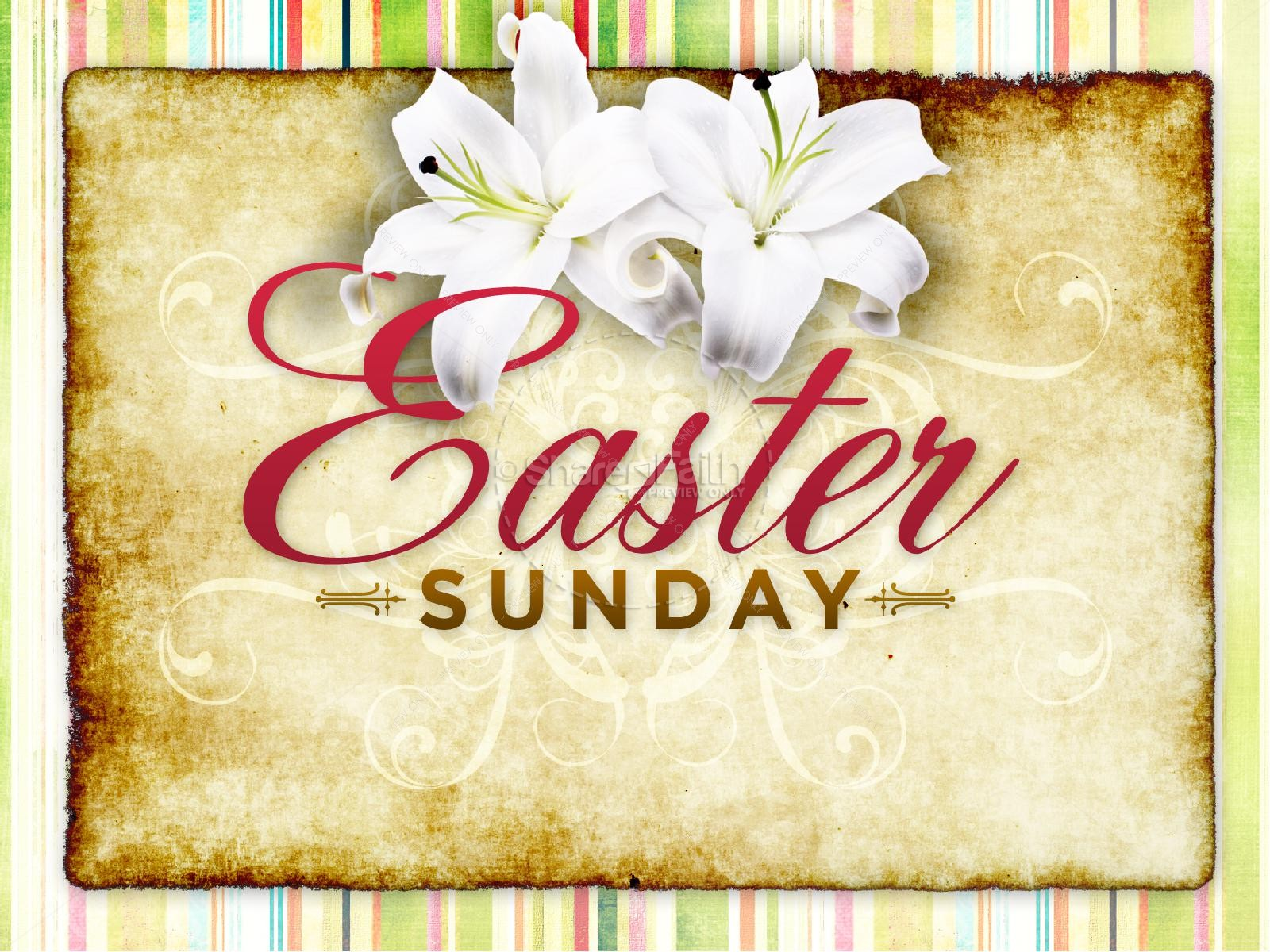 Easter Sunday PowerPoint Template