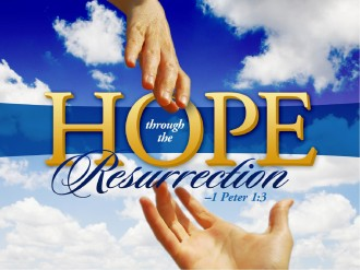 Easter Resurrection Church PowerPoint Template