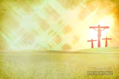 Salvation Cross Worship Video Background Worship Video