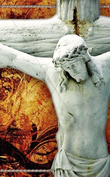 Crucifixion Of Jesus Church Bulletin Cover