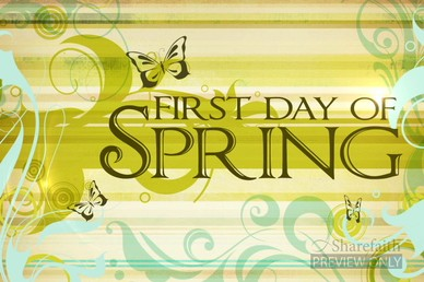 First Day of Spring Video
