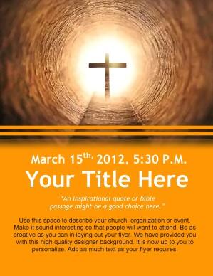 Church Flyer Design Template