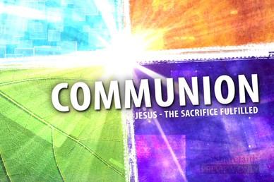 Easter Video Communion Loop