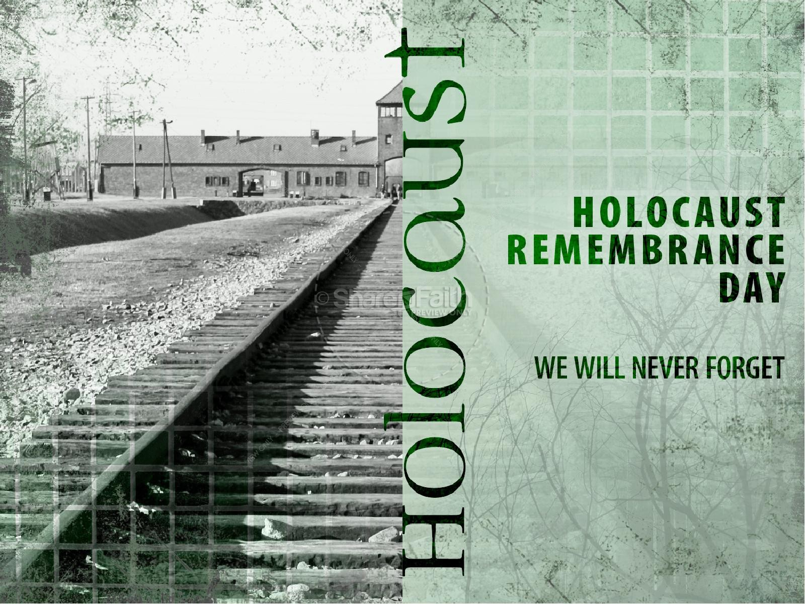 Holocaust Remembrance PowerPoint