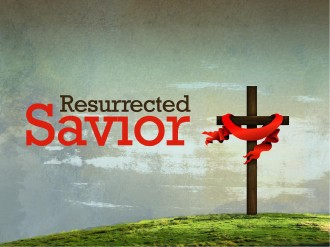 Resurrected Savior  PowerPoint Template
