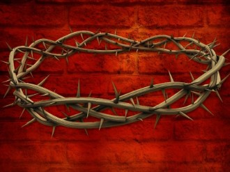 Crown of Thorns Background Wallpaper