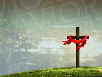 Easter Cross Wallpaper Background