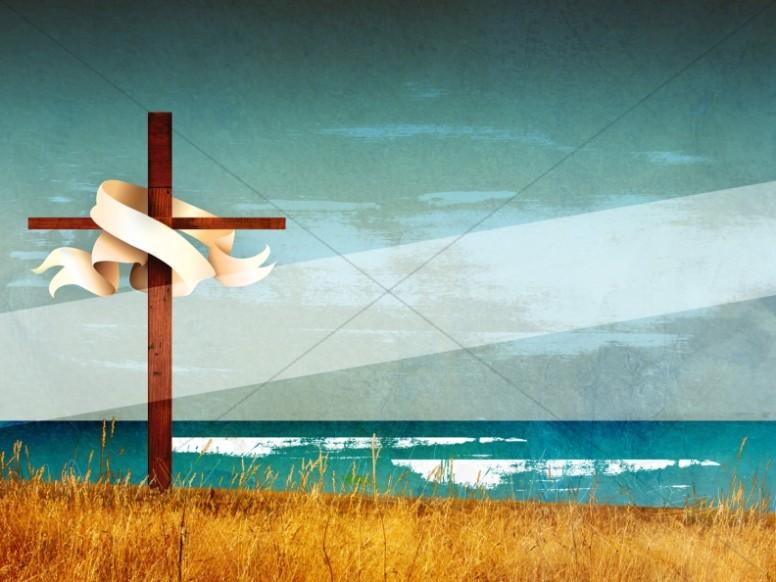 Easter Christian Cross Wallpaper Background