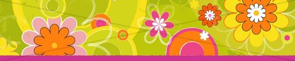 Mothers Day Flower Pattern Email Footer