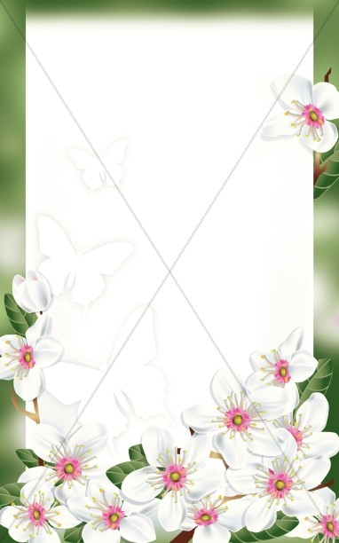 Happy Mothers Day Bulletin Cover Template
