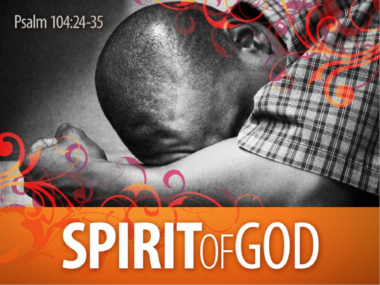 Holy Spirit Baptism PowerPoint Template