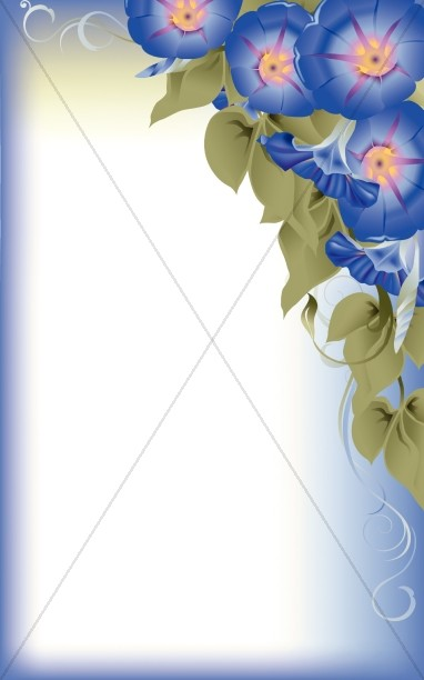 Mothers Day Floral Bulletin Cover