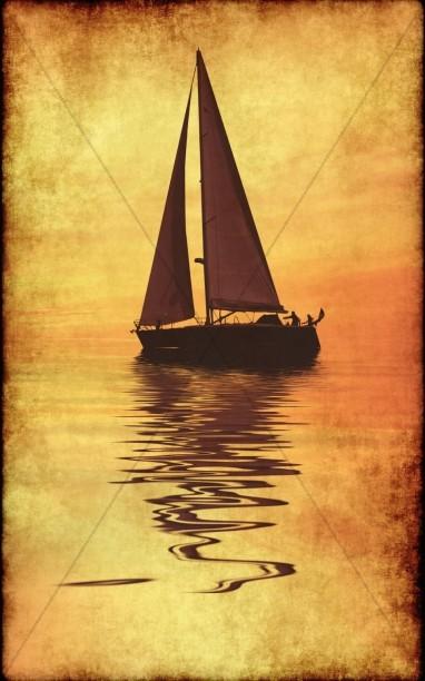 Sail Boat Bulletin Cover